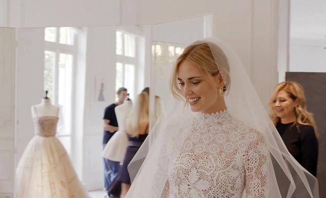 boda de chiara ferragni y fedez: te mostramos cómo fueron las