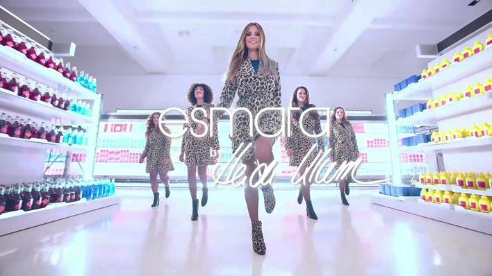 Klum di collezione alla New York sua moda della Heidi la per settimana Lidl presenterᄄᄂ u1KTFJcl3