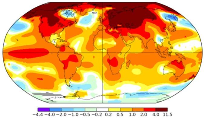 Resultado de imagen para temperatura cambio climático