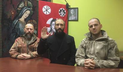 Elecciones Cataluna Viva Cristo Rey Los 300 Paramilitares Ucranianos Que Quieren Defender La Unidad De Espana Por Las Armas El Mundo