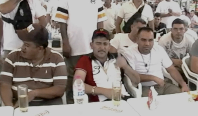La fiesta de los narcos del cártel de Jalisco en la cárcel  58f2340f8cd