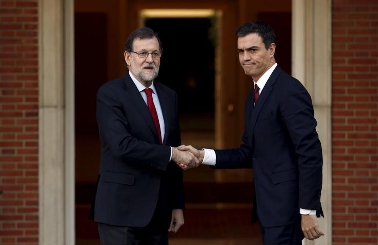 Resultado de imagen para Fotos de Pedro Sánchez y Mariano Rajoy