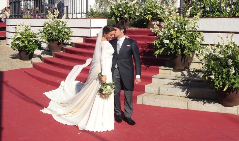 e4ea2b2fd8 Eva y Cayetano ya son marido y mujer