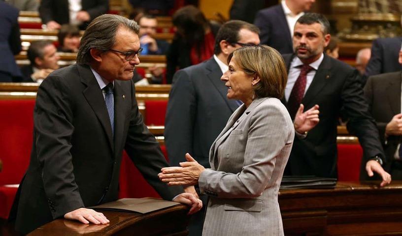 Resultado de imagen de la ruptura constitucional en Cataluña