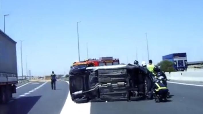 los accidentes con furgonetas se disparan un 41% en cinco años en