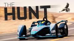 Un Fórmula E contra el animal más veloz del mundo