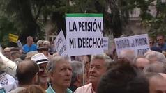 Los pensionistas vuelven al Congreso a pedir pensiones dignas