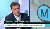 Bronca entre Albert Rivera y una presentadora de TV3