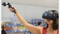 Nielsen presenta su 'Smart store', una tienda de realidad virtual