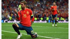 Ramos, protagonista de la victoria de la selección ante Suecia
