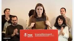 Adriana Lastra anuncia que el Gobierno subirá el Salario Mínimo el próximo viernes desde Barcelona