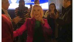 Victoria Abril en Egipto dos premios bailes y una visita turística sin preguntas