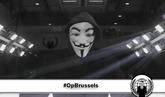 Anonymous amenaza por los atentados de Bélgica
