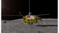 China logra alunizar en la cara oculta de la Luna