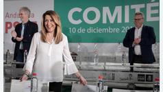 """Díaz avisa de que nadie va a """"poner de rodillas"""" al PSOE andaluz"""