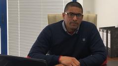 Orlando Ramírez, presidente de SPT, explica las funciones de GyroMaster