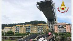 """El derrumbe del puente Morandi de Génova, """"una tragedia anunciada"""""""