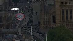 Así ha sido el atropello en el Parlamento de Londres