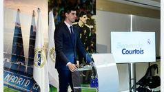 Courtois ''Recibí mejores ofertas económicas, pero quería venir al Madrid''