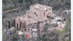 La mansión de Christian Volkers en Mallorca, destrozada por las tormentas