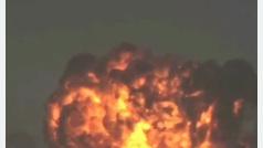 Un piloto salva su vida tras lanzar unas bombas de entrenamiento