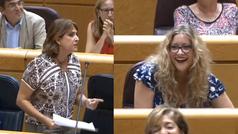 """Duro enfrentamiento entre Dolores Delgado y una senadora del PP por el juez Llarena: """"Usted tiene que dimitir"""""""