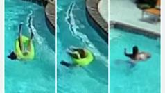 Una niña salva a su hermana pequeña de morir ahogada