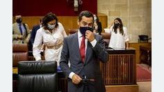 """Juanma Moreno, muy pesimista: """"Los datos abocan a un cierre perimetral de Andalucía"""""""