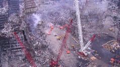 Unas fotos inéditas del 11-S, encontradas en unos viejos CDs