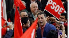 """Pedro Sánchez se lanza a por el voto de Podemos: """"La única opción de vencer al bloque de derechas es el PSOE"""""""