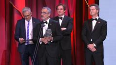 Campeones y El Reino se alzan con los principales galardones en la noche de los Goya