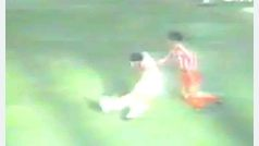 Gol de Maradona con el Sevilla al Sporting de Gijón (Liga, 1993)
