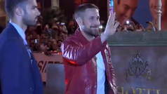 Locura en San Sebastián con la llegada de Ryan Gosling