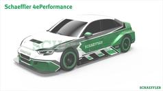 Así es el Schaeffler 4 Performance: un 'súperdeportivo' eléctrico
