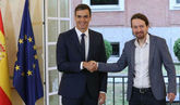 Sánchez e Iglesias pactan cambiar los delitos de injurias al Rey y...