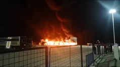 Un incendio en Jerez calcina 23 motos de MotoE y el Mundial peligra