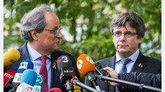 Puigdemont y Torra presentarán el Consell de la República el próximo 30 de octubre