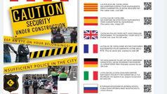 """'Mossos' a turistas en Barcelona: """"Vigile sus pertenencias. No hay policías suficientes en la ciudad"""""""