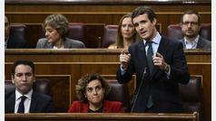 """Casado reconoce """"el desgaste electoral y de partido"""" por el fiasco del CGPJ"""