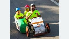 'Sentir a carrilana': el proyecto para que cuatro niños ciegos se conviertan en pilotos 'de carreras