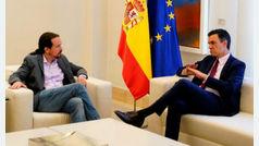 """Podemos recuerda a Sánchez que hay """"predisposición"""" para pactar"""
