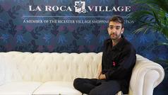 Entrevista a Pablo Rroz en la 080 Barcelona Fashion