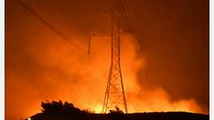 Impresionantes imágenes de los incendios que asolan el condado de Riverside en California