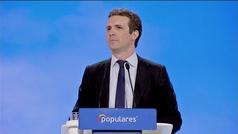 Pablo Casado: 'Menos PP es menos España'
