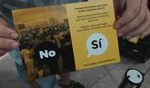 Los partidarios del 'sí' a la independencia politizan la huelga de El...