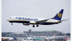 Ryanair cancela 400 vuelos en España por la huelga de tripulantes de cabina