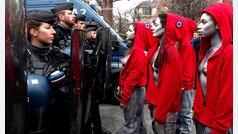 Nueva jornada de protesta de los ?chalecos amarillos? en París