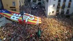 El independentismo catalán se apropia de la fiesta de la Patum de Berga