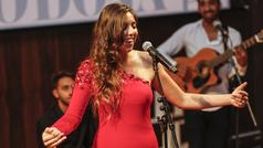 Marina Carmona canta 'La vie en rose'