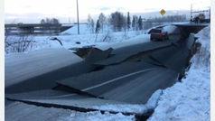 Caos en Alaska tras temblar 1.000 veces